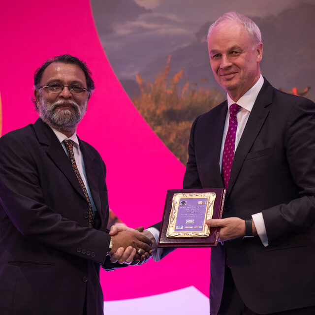 David Scowsill - Ambassador of Peace with Ajay Prakash