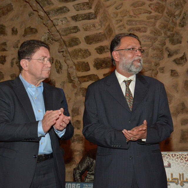 Taleb Rifai and Ajay Prakash